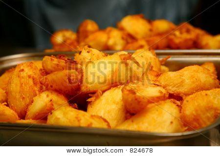 geröstete Kartoffel