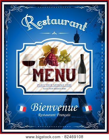 French menu restaurant