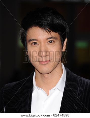 LOS ANGELES - JAN 08:  Leehom Wang arrives to the