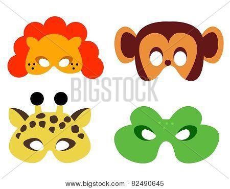 Animal Mask Printable