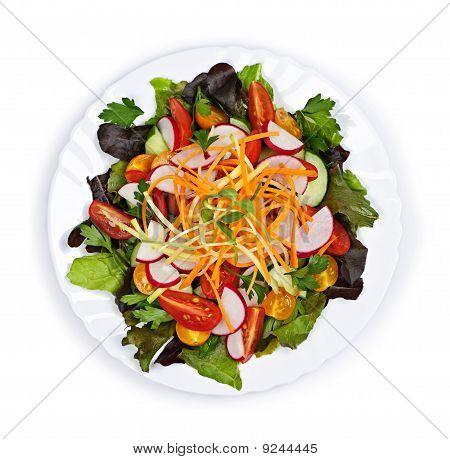 Salada jardim