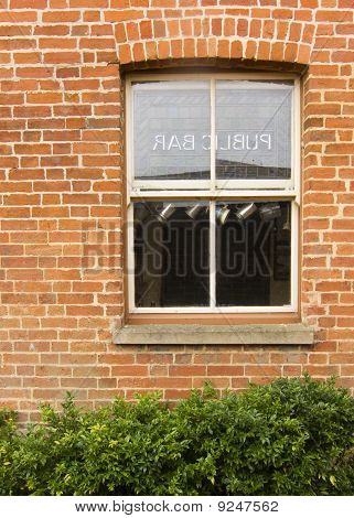 Public Bar Sash Window