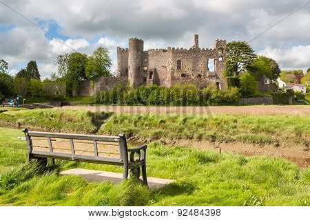 Laugharne Castle Wales