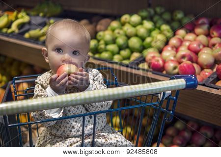 Grocery Shopping With Baby