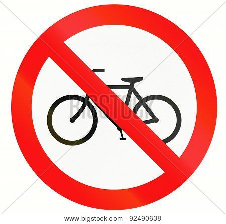 No Bicycles In Indonesia