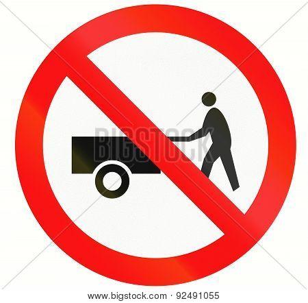 No Handcarts In Indonesia