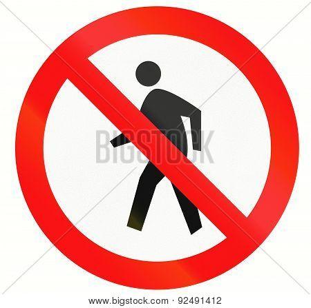 No Pedestrians In Indonesia