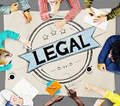 Legal Legalisation Laws Justice Ethical Concept poster