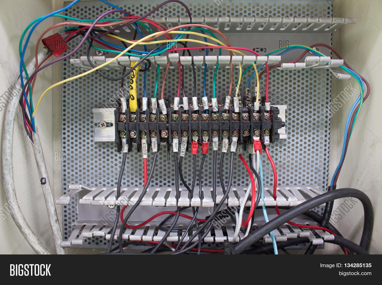 Panel Connector Wiring Diagrams For Dummies House Solar Panels Wire Image Photo Free Trial Bigstock Rh Bigstockphoto Com Boat Connectors