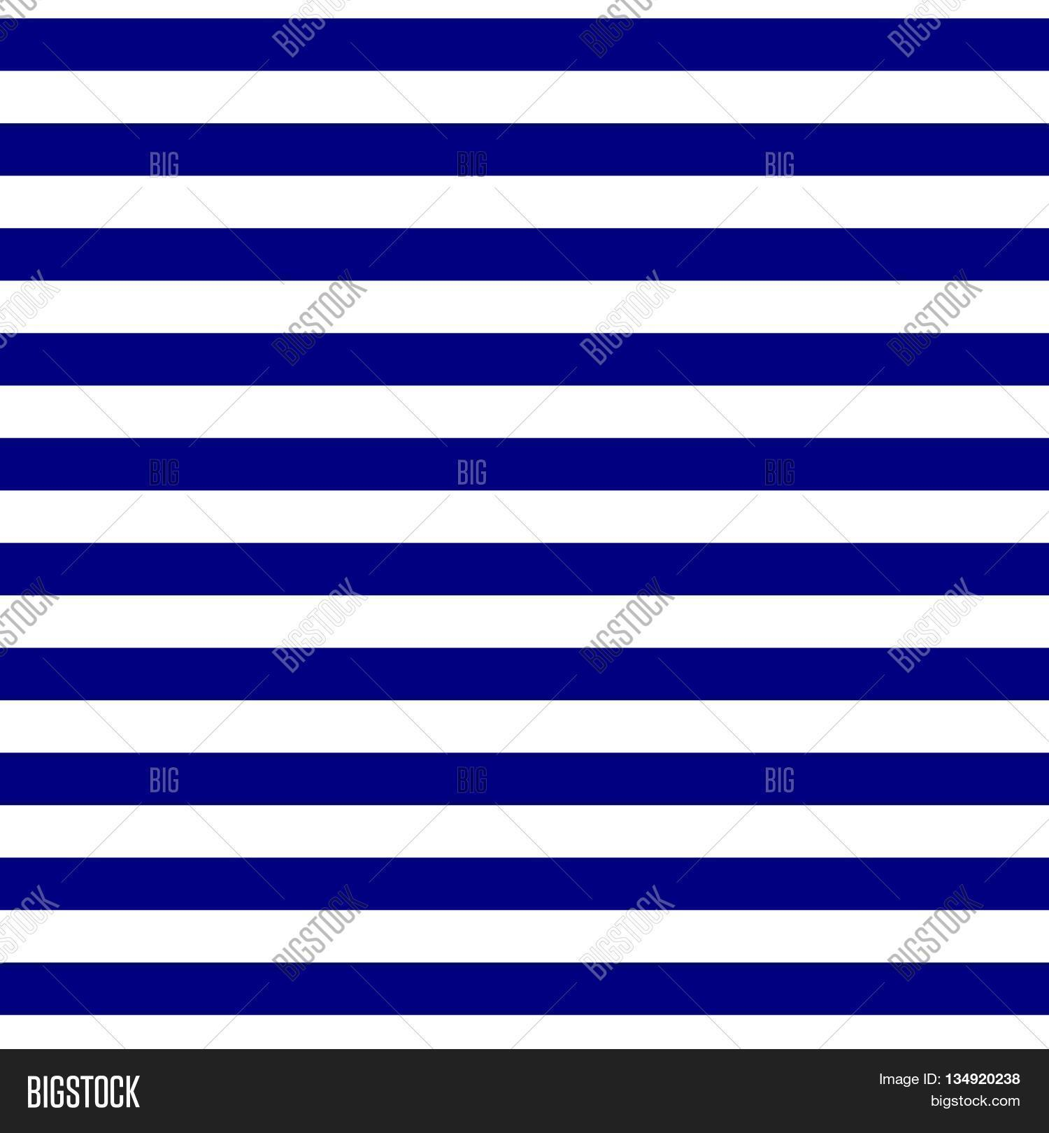 Seamless Geometric Horizontal Striped Pattern Abstract Background Blue And White Stripes Modern Navy