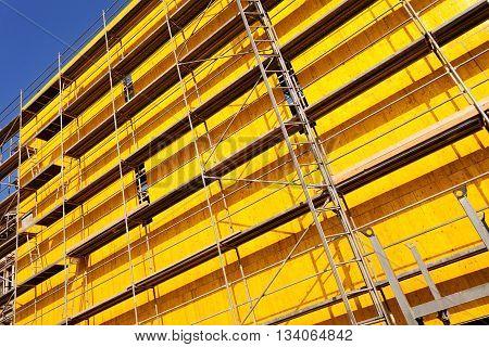 Yellow Protective Tarpaulins
