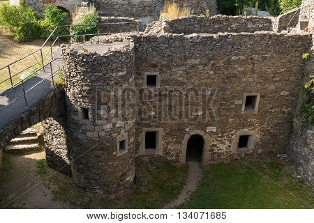 Schaumburg castle from the Middle Ages - Austria