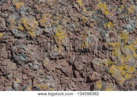 Background of lava rock texture random organic pattern rough rugged grunge