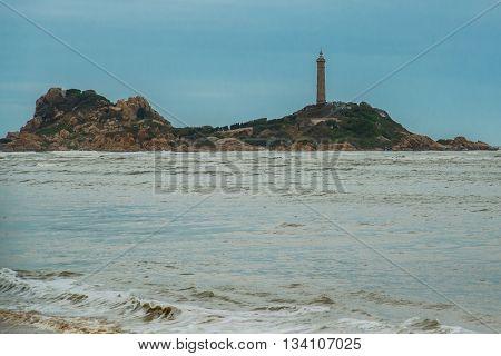 Beautiful Ke Ga Beach At Mui Ne, Phan Thiet, Binh Thuan, Vietnam. Mui Ke Ga ,ke Ga Cape Or Lighthous