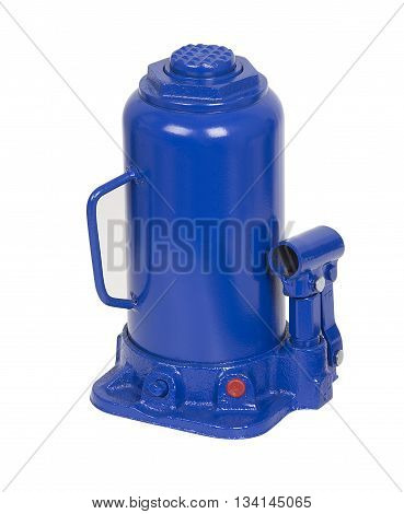 Twenty tonn Hydraulic Bottle Car Jack on white background