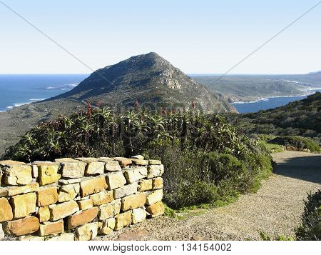 Cape Point. Peninsula, Cape Town South Africa