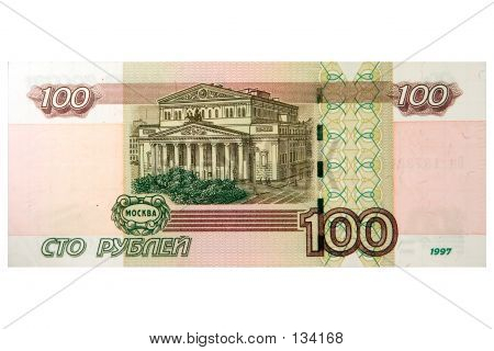 100 Russian Rubles