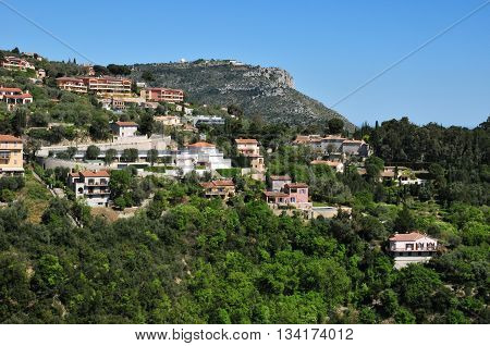Eze France -  : the small old village