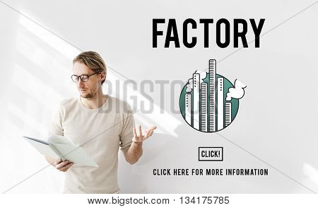 Factory Built Organization Industrial Concept