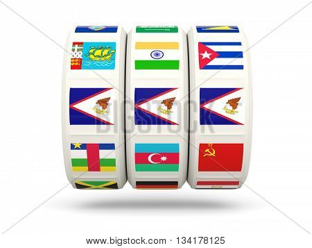 Slots With Flag Of American Samoa