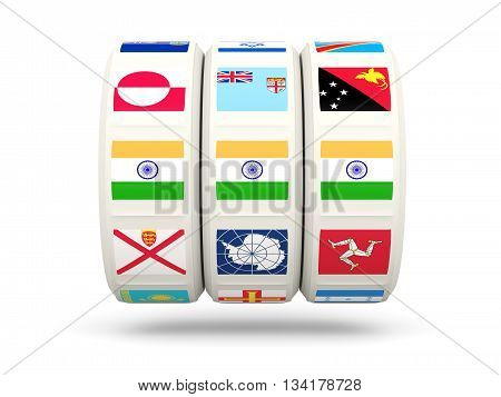 Slots With Flag Of India