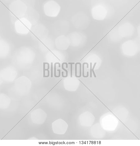 Beautiful white bokeh and abstract light backgrounds