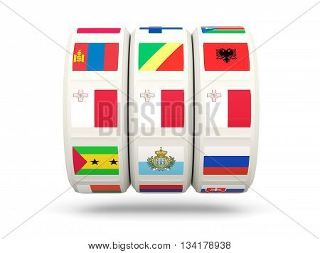 Slots With Flag Of Malta