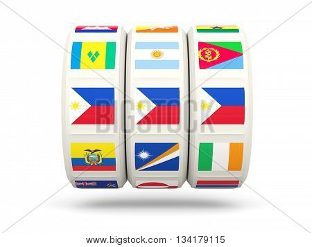 Slots With Flag Of Philippines