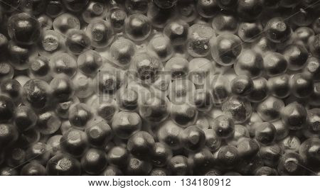 packaging foam as a texture for background close-up of balls.