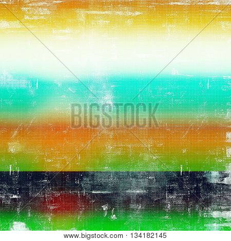 Grunge background for your design, aged shabby texture with different color patterns: yellow (beige); green; blue; red (orange); black; white
