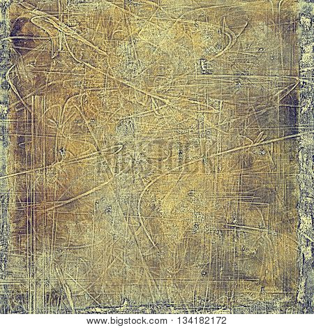 Grunge background for a creative vintage style poster. With different color patterns: yellow (beige); brown; gray