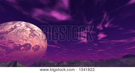Abstract Moon