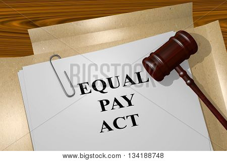 Equal Pay Act Legal Concept