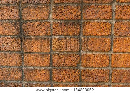 Wall texture background,  Laterite block wall background.