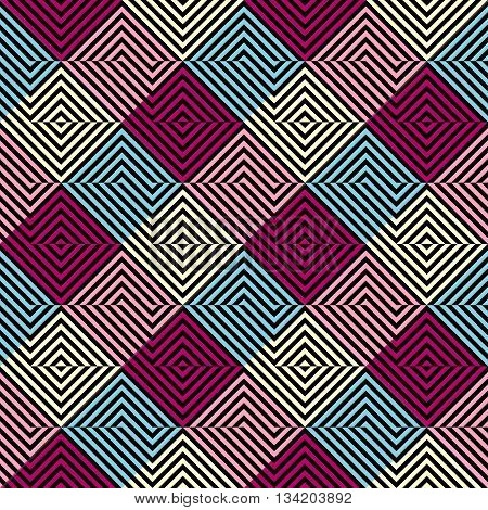 Seamless background pattern. Diagonal geometric abstract pattern.