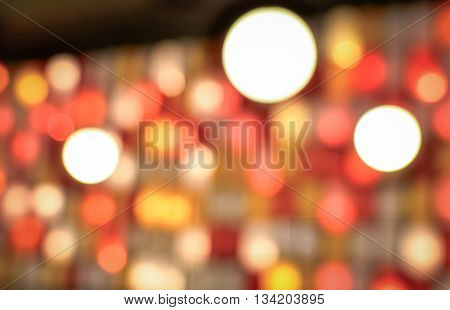 Abstract blur de- focused background black (abstract, bokeh, decor)