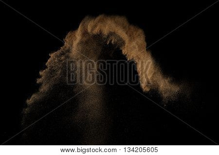 Sandy Explosion Isolated.