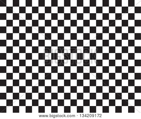 Checked flag pattern for racing sport background vector illustration.