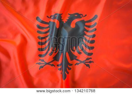Flags of Albania