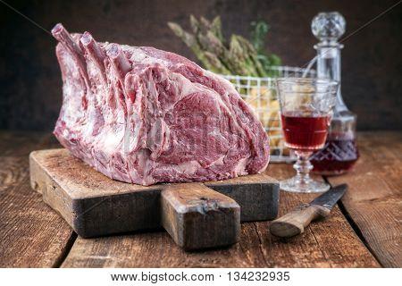 Dry Aged Rib of Beef