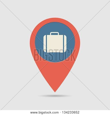 Map Pin Handbag