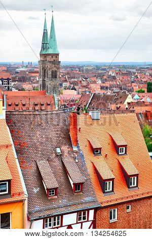 Old Town (Altstadt) of Nuremberg, Germany