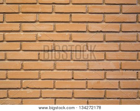 Stock Photo - Red brick wall texture background