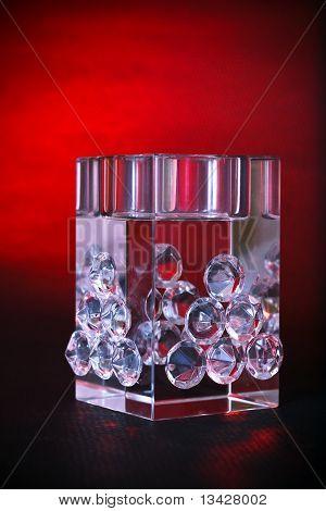 Crystal Luxury Decorative Cube