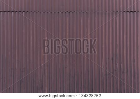 Old Wheathered Galvanized Wall