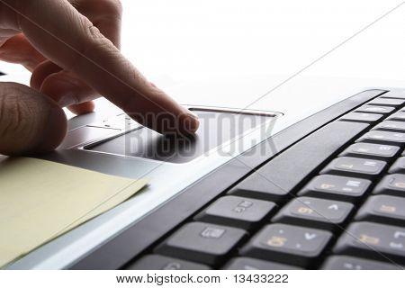 ordenador portátil, tecnología de negocios