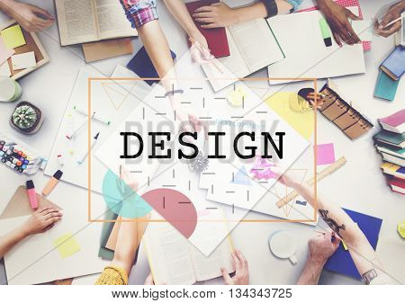 Fashion Graphic Interior Exterior Design Concept