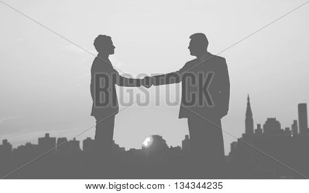 Handshake Agreement Business Corporate Deal Concept