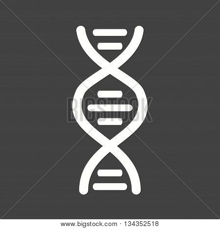 Cell, dna, genes icon vector image. Can also be used for human anatomy. Suitable for mobile apps, web apps and print media.