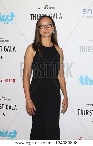 LOS ANGELES - JUN 13:  Lily Knowles at the 7th Annual Thirst Gala at the Beverly Hilton Hotel on June 13, 2016 in Beverly Hills, CA